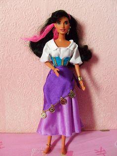 Disney's Hunchback of Notre Dame -  Esmeralda (1995, Mattel)