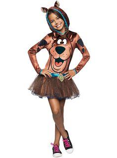 Disfraz de Scooby Doo para niña