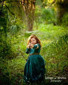 Brave inspired photo shoot.  Princess Merida » Blog