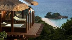 Surrounded by the amazing natural beauty of Boracay is a private paradise at Barangay Yapak, Boracay Island, Malay, Aklan – the luxurious Shangri-La's Boracay Resort and Spa. Shangri-La features a 350-meter private beachfront where you can enjoy the spectacular view of the ocean  | Gay Asia Traveler
