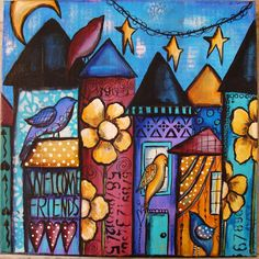 My Art Journal: Doodle Painting