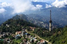View of Gangtok from Ganesh Tok. Explore Eastern India with us! http://www.kennethphotography.com/india