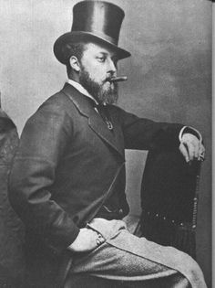 The Prince of Wales (later King Edward VII).