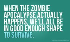 zombies and fitness