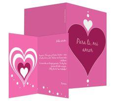 Para tí (rosa) - #felicitación de #SanValentin
