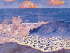 Georges Lacombe - Blue Seascape