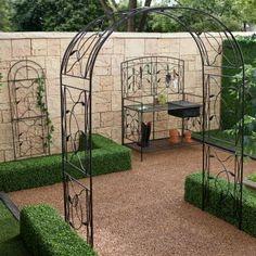 1000 ideas about metal arbor on pinterest arbors garden arbor and trellis - Balkon arbor ...