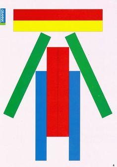Fun Worksheets For Kids, Puzzles For Kids, Games For Kids, Popsicle Stick Crafts For Kids, Craft Stick Crafts, Motor Skills Activities, Kindergarten Activities, Visual Perception Activities, Game Stick