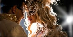 Celaena and Dorian at the masked ball-- once of my favorite scenes in Throne of Glass