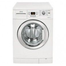Smeg LBS 147 X - Lave linge séchant hublot Laundry Room Storage, Wall Storage, Closet Storage, Hall Closet, Closet Bedroom, Tapis Anti Vibration, Smeg, Stackable Washer And Dryer, Winter Blankets