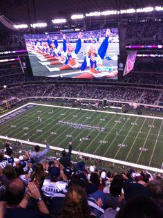 Cowboys Stadium - Giants vs. Dallas  December 11, 2011