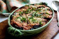 NYT Cooking: Israeli Couscous, Eggplant and Tomato Gratin