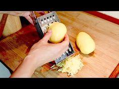 Recept na zemiaky za pár minút! 2 zemiaky 1 cibuľa a syr! # 426 - YouTube Side Recipes, Great Recipes, Healthy Recipes, Special Recipes, Potato Recipes, Side Dishes, Food And Drink, Appetizers, Cheese