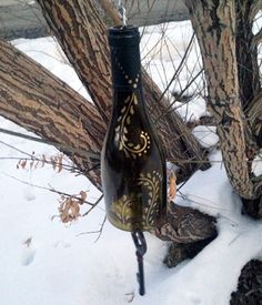 Wine Bottle Wind Chimes 101 (HOMEGROWN.org)