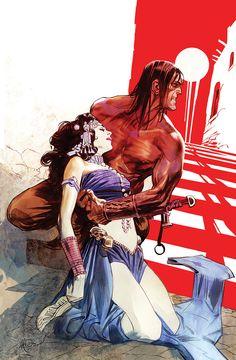 Conan the Barbarian by Massimo Carnevale