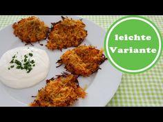 Kartoffel-Karotten-Rösti aus dem Backofen   Weight Watchers   Rezept   Wie abnehmen? - So abnehmen