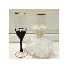 グラスもとびきり可愛くおめかししたい♡乾杯グラスのデコレーションアイデアまとめ* | marry[マリー]