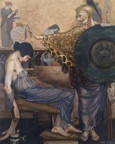 "loumargi: "" William Russell Flint-Homer's Odyssey """