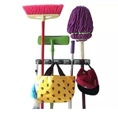 Champ Grip Strongest Grippers Mop Broom Holders with 5 Ball Slots and 6 Hooks Items Guaranteed Non Slide Lifetime Guarantee >>> Continue to the product at the image link. (This is an affiliate link and I receive a commission for the sales)