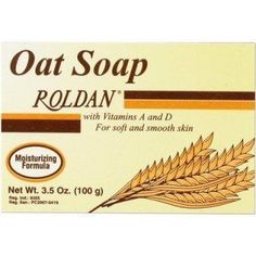 Roldan Oat Soap With Vitamins A And D For Soft And Smooth Skin 3.5 oz