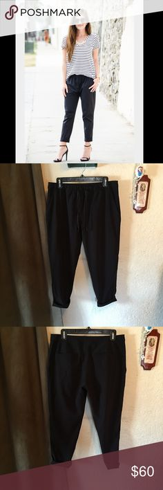 Lululemon Jet Crop Slim Pant IN NEW CONDITION! No signs of wear what so ever. NO VISIBLE SIZE BUT IM BETWEEN AN 8/10 in LULU & THEY FIT GREAT! LUXTREME Sweat-wicking Luxtreme® fabric is four-way stretch, cool to the touch and fits like a second skin—this technical fabric offers support and smooth, low-friction performance sweat-wicking four-way stretch fits like a second skin cool smooth handfeel low-friction performance LYCRA®  Added LYCRA® fibre for great shape retention  stretch great…