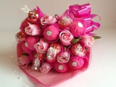 Misi is UK's popular marketplace for handmade and vintage gifts. Ferrero Rocher Chocolates, Lindt Lindor, Sweet Trees, Chocolate Bouquet, Edible Arrangements, Handcrafted Jewelry, Handmade, Strawberries And Cream, How To Make Chocolate