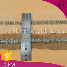 Wholesale india beaded mesh trim for garment WTA296, View beaded trim india, world trims Product Details from Guangzhou World Trims Co., Ltd. on Alibaba.com