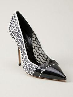 Casadei - Sapato preto e branco 6