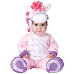 INCHARACTER COSTUMES REF: 6048 PONY BEBE - Incluye traje especial para que cambies el pañal de tu bebe fácilmente, gorrita con orejas y botines antideslizantes. PRECIO COLOMBIA: 150.000