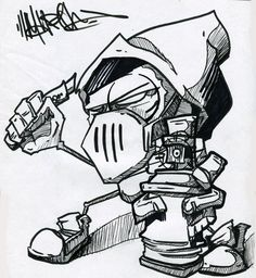 Machina-3014. some ppl can sketch!..