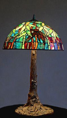 Tiffany style table lamp. | Flickr - Photo Sharing!
