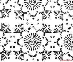 ". Ажурная кофточка ""Винтаж"" Crochet Motif Patterns, Crochet Diagram, Crochet Cardigan, Knit Crochet, Crochet Clothes, Crochet Projects, Knitting, Crafts, Crochet Motif"