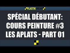 Aérographe pour débutant: Cours #3, les aplats partie 01 - YouTube