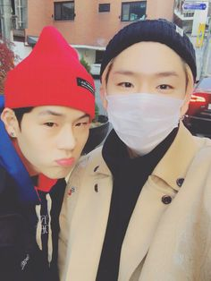 Jooheon e Kihyun Monsta X ❤️