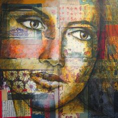 Christine Peloquin      ''The majority of my art work can be summarized as drawing and painting on fabric and paper collage. The subjects r...