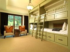 bunk rooms designs for adults | Loft-bunk-beds-for-adults-ideas.jpg