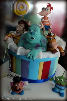 DISNEY TOY'S CAKE - by PamsCakeCreations @ CakesDecor.com - cake decorating website