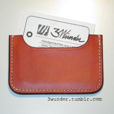 Visitenkartenetui / card holder