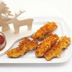 Crunchy kipfilet Tandoori Chicken, I Foods, Chicken Wings, Chicken Recipes, Quinoa, Menu, Cooking, Ethnic Recipes, Om