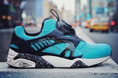 """Check out these #PUMA Disc Blaze Lite """"Coat of Arms"""" mints. #PUMACollaborations"""