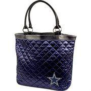 dallas cowboy purse | dallas cowboys navy blue quilted tote bag