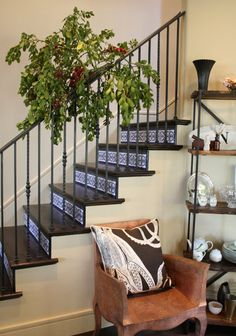 wonderful wood stair risers | 45 Best Stairs images | Stairs, House design, Home