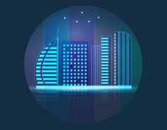 "Check out new work on my @Behance portfolio: ""Glowsy city"" http://be.net/gallery/47720701/Glowsy-city"