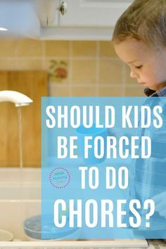 """Should you make your kids do chores around the house? This post looks at the argument from chore opponents. It's not as hard or as """"horrible"""" as you think to get kids to do household tasks with a good attitude! 