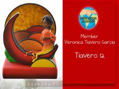 Veronica Travero Garcia - Travero 12 Spain Edible art - moon modern art cake