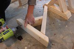 DIY X-Brace Bench | Step 1