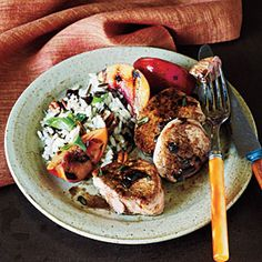 Pork Tenderloin Medallions and Balsamic Reduction -- fantastic on any phase. Sub xylitol for the sugar, and saute in broth for Phase 1 and Phase 2.