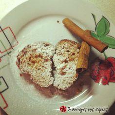 Κέικ με μέλι και κανέλα #sintagespareas