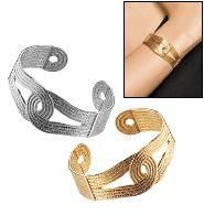 "Interlocking Cuff Bracelet - Goldtone - AVON  Yardsellr gives you $5 free photons to spend when you pledge to ""shop small"" here http://yardsellr.com/shopsmall . I offer FREE shipping so shop here http://yardsellr.com/yardsale/Angela-Moran-Bustamant..."