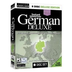 Instant Immersion German Deluxe-      8CDs, Box With Advanced Speech Recognition And Analysis Features! The #1 Selling Languages Product Worldwide! Your first-class journey to a new language is ready to commence!!!!